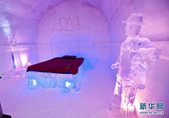加拿大一冰雪酒店开门迎客