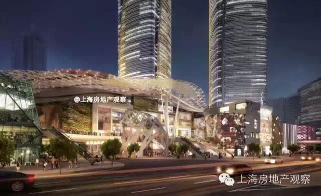 万商如一酒店_新鸿基地产400亿重押上海徐家汇中心设计曝光_联商网资讯中心