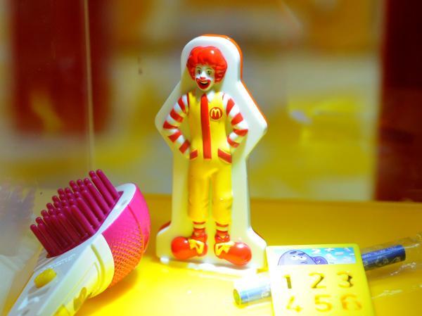 麦当劳生意经:靠卖玩具聚拢人气