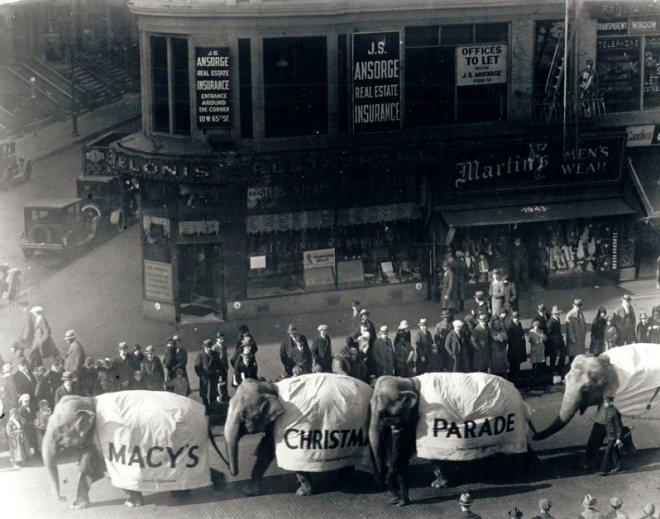 梅西百货90年里如何把感恩节游行变成大节日