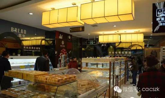 挑战沃尔玛的香江百货 装潢设计可叫板精品超市