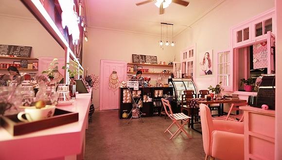 化妆品牌伊蒂之屋 在上海开了家快闪咖啡店