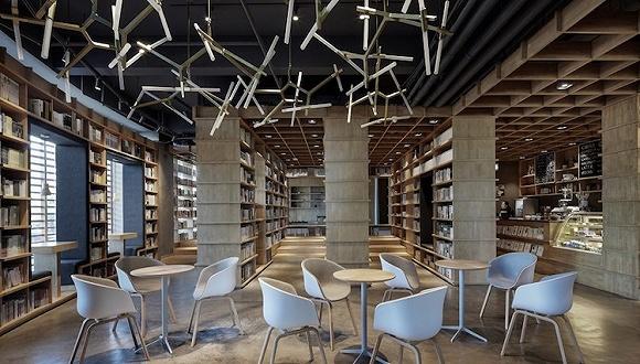 书店变时髦了 保定这家新店还是日式清新风