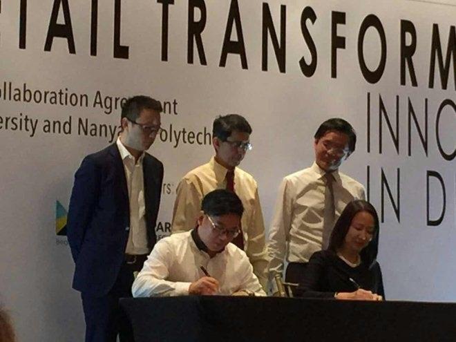 阿里全球战略:淘宝大学携手新加坡零售学院共培人才