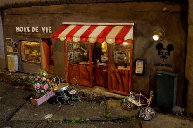 瑞典马尔默专为老鼠开出了2家网红迷你店