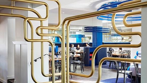墨尔本开了家走电子科技风的中餐馆