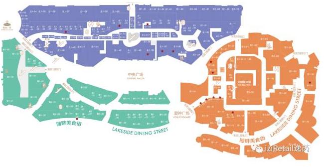 武汉天地建筑平面图_从50张商场平面图,看购物中心的动线规划-派沃设计