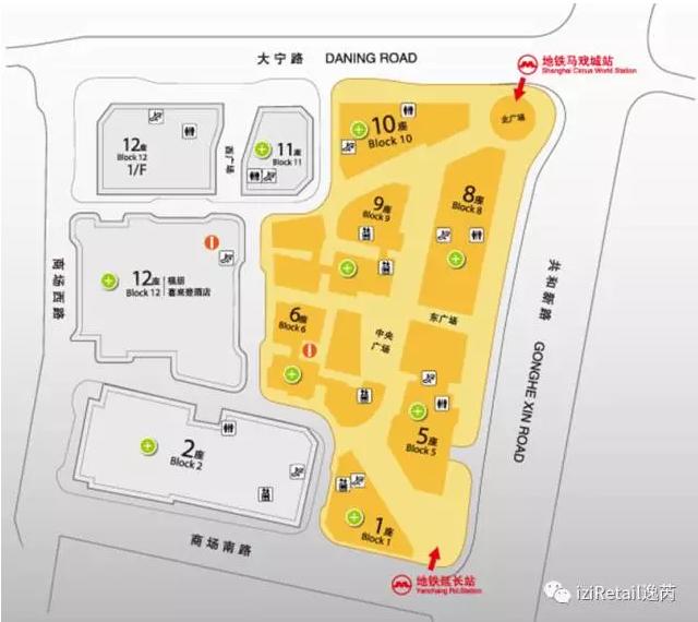 武汉天地建筑平面图_从50张商场平面图,看购物中心的动线规划_搜铺新闻