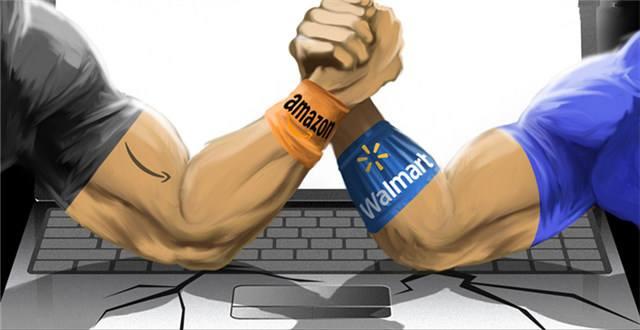 亚马逊效仿中国电商 被戳中死穴的沃尔玛怒了