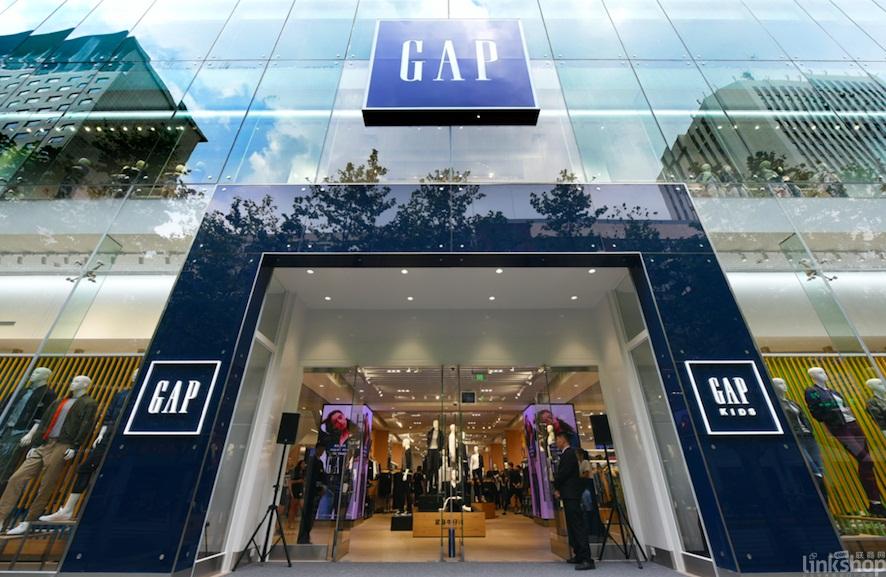 gap中国门店_GAP中国最大旗舰店在沪开业注重家庭和数字化_联商网