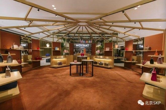 法国皮具品牌MOYNAT在北京SKP开出限时店