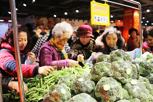 70平米蔬菜水果摆设图
