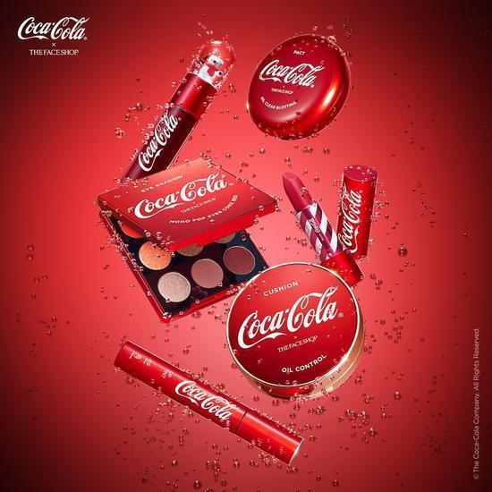 不只是可乐 可口可乐和The Face Shop推出联名彩妆