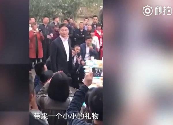 刘强东清明节回乡认祖:计划在湘潭投资100亿