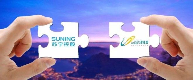 苏宁与碧桂园达成合作 年内600家店将入驻碧桂园