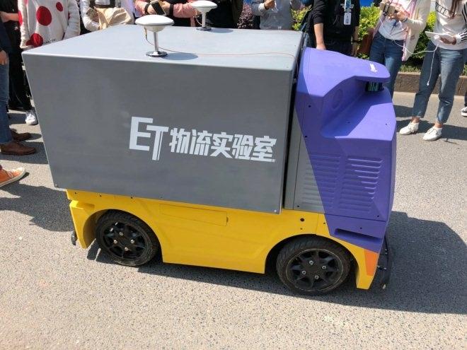 菜鸟无人车路测:量产商用在即 年内将进入末端进行配送