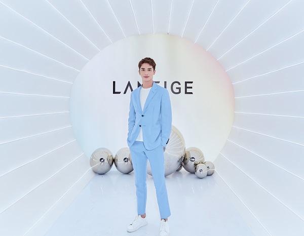 兰芝西安推出新品紫霞气垫 2017年销售额达23.2亿