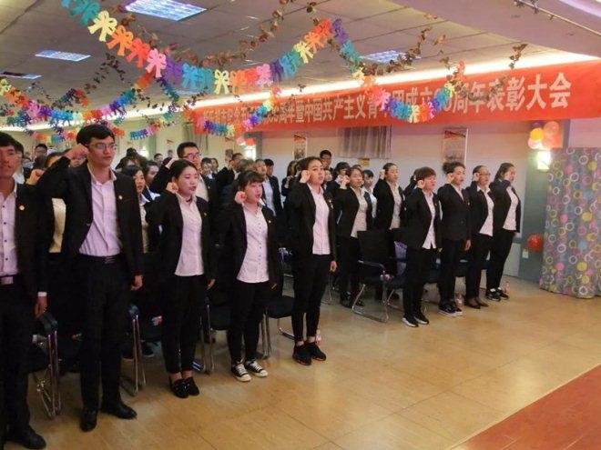 李玲:新乐超市的团员青年要坚定理想信念 树立崇高目标
