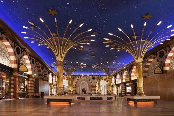 商场中庭景观设计方案