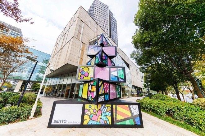上海购物中心圣诞美陈设计方