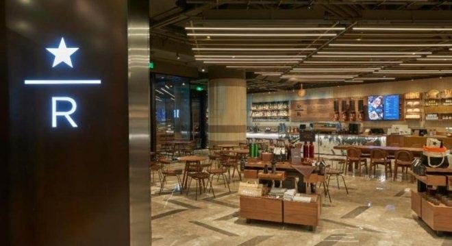 星巴克臻选咖啡·焙烤坊在上海港汇恒隆广场开业