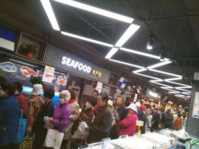 新乐超市新闻大厦店开业 创新服务模式