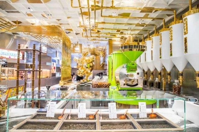 乐乐茶亚洲旗舰店进驻上海合生汇 1000㎡制茶乐园有何亮点?