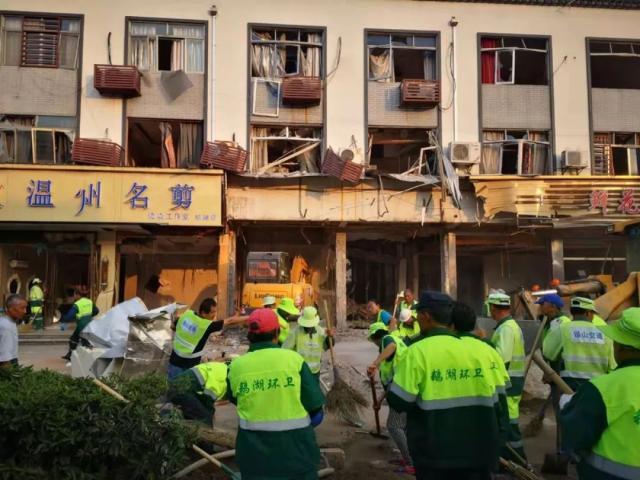 更新:无锡一餐饮小吃店发生爆炸