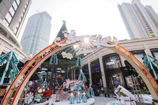 兴业太古汇开启两周年暨圣诞庆典 打造暖心童话奇境
