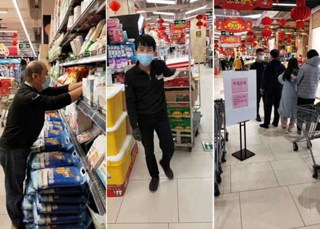 """保供应,应需求龙湖杭州滨江天街""""一心移疫""""为民服务"""