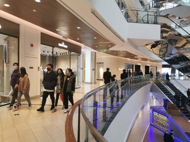 上海市95%以上購物中心和百貨企業已正常營業