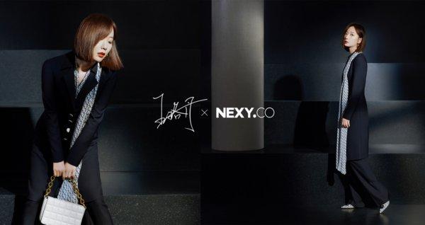 赢家时尚旗下女装品牌推出NEXY.CO×王珞丹联名系列