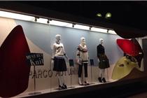 FW北海道橱窗陈列