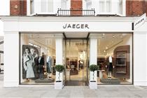 Jaeger伦敦店设计