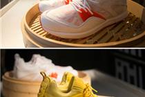 创意陈列:放在蒸笼里的运动鞋