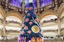 法国巴黎老佛爷百货2013年圣诞节橱窗陈列