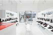 看步维也纳鞋店陈列设计