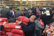 湖南永州万联超市提前引爆中国购物节