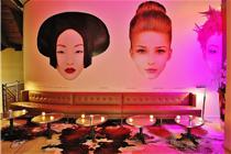 巴黎时尚餐厅KONG室内环境