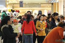 中国购物节:临汾安达圣购物中心现场