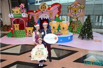 香港置富广场乐天熊仔圣诞游世界装置艺术