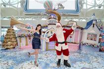上水广场「圣诞梦幻国度」圣诞装置艺术