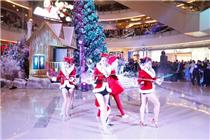 2014年杭州万象城圣诞美陈装饰