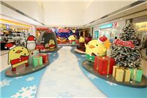 新达广场 x BARYSAN「冬日雪乐园」圣诞装置艺术