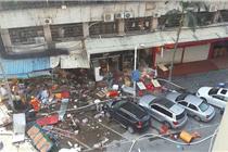 厦门一小吃店煤气爆炸致多人死伤