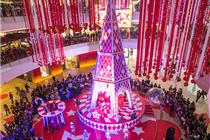 国内外商场精美创意圣诞树集锦(图)