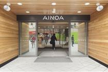 欧洲Ainoa购物中心视觉导示设计