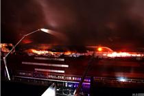 长沙一家具城装修刚满一月突发火灾