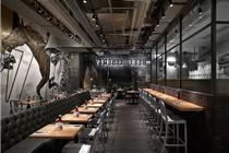 香港的beef & liberty餐厅设计