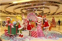 citylink x 绿杨坊「圣诞梦幻奇缘」装置艺术